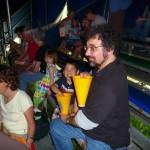 During intermission (more popcorn!)