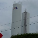 The Cabot Cheese silo